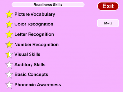 Readiness Skills screenshot