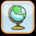 Map & Globe Skills Logo