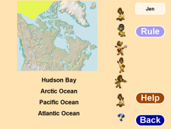 Canadian Geography screenshot