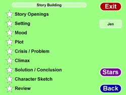 Creative Writing screenshot