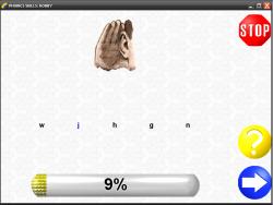 Diagnostic Phonics Test screenshot