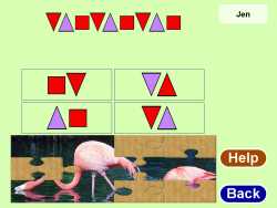 Patterning, Geometry & Data Management Grade 3 screenshot