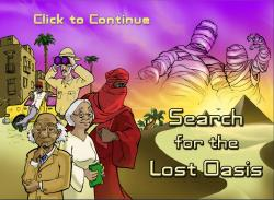 The Search for the Lost Oasis screenshot