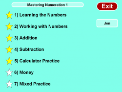 Mastering Numeration Level 1 screenshot