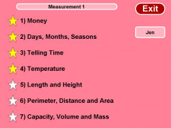 Measurement Grade 1 screenshot