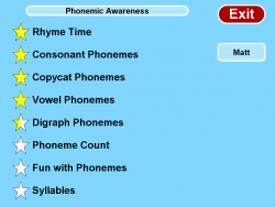 Phonemic Awareness screenshot
