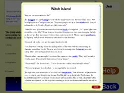 Reading Comprehension Level 6 screenshot