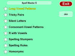 Spell Master Grade 5 screenshot