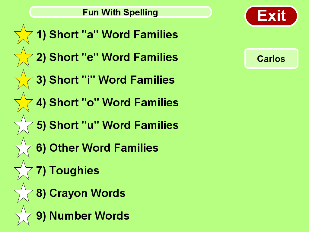 a family outing 150 200 words Family outing  0% under $150 0% complete  the newer generations may be naturally good with technology but they still need help with their sounds and words.